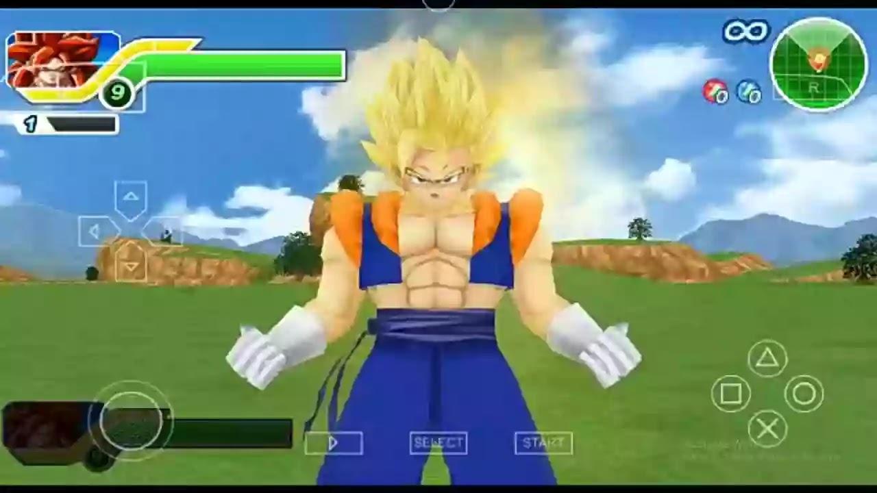 PSP DBZ TTT MOD Gogito Fusion
