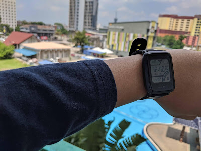 review Smartwatch Amazfit Bip malaysia