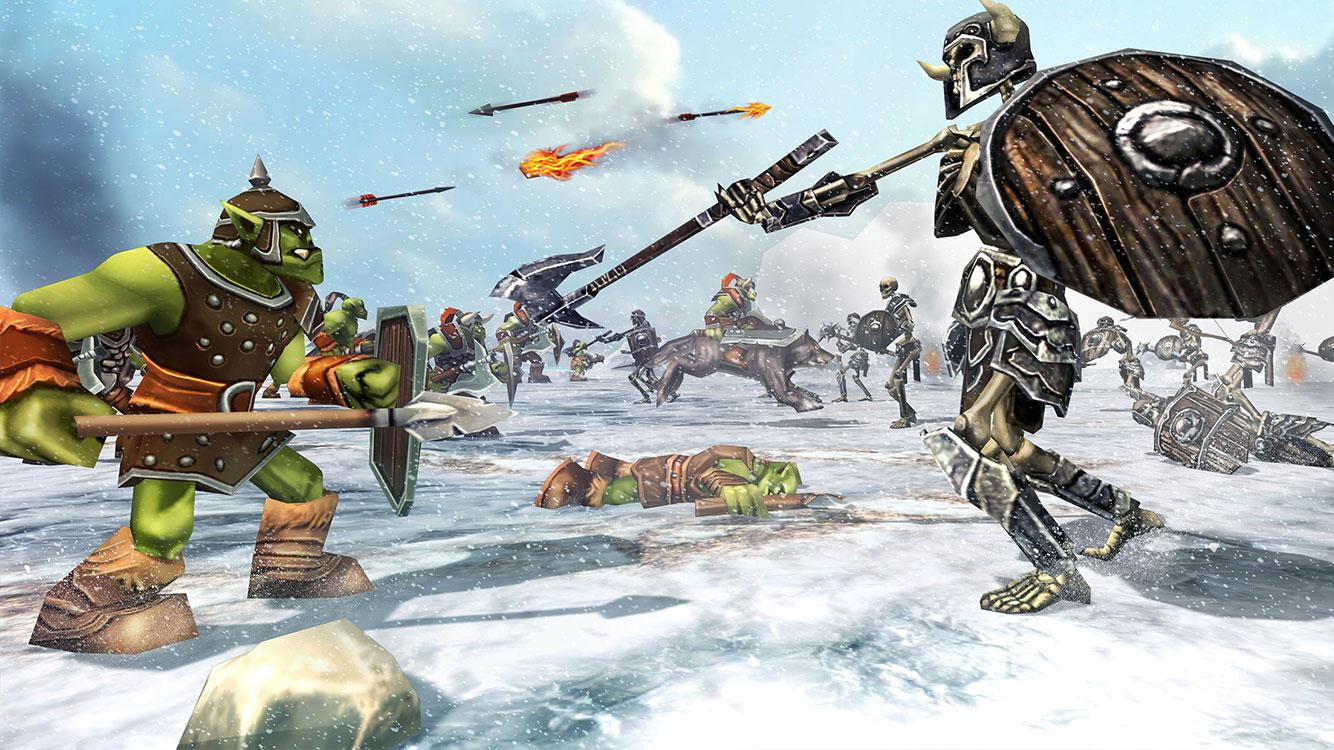 Ultimate Epic Battle War Fantasy Game MOD APK