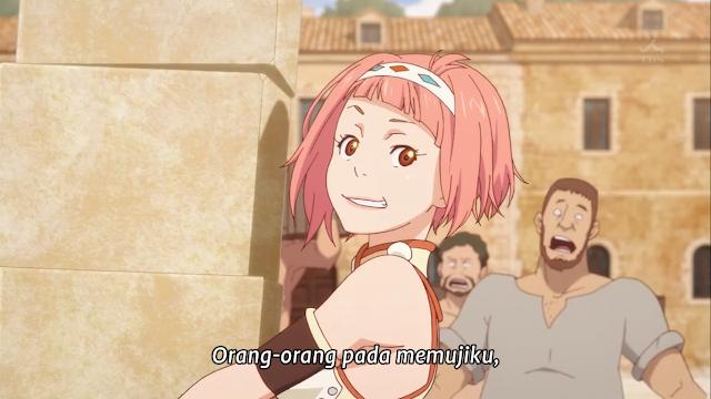 Shingeki no Bahamut: Virgin Soul Episode 02 Subtitle Indonesia