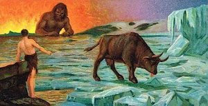 قصة الميثولوجيا النوردية او الديانة النوردية
