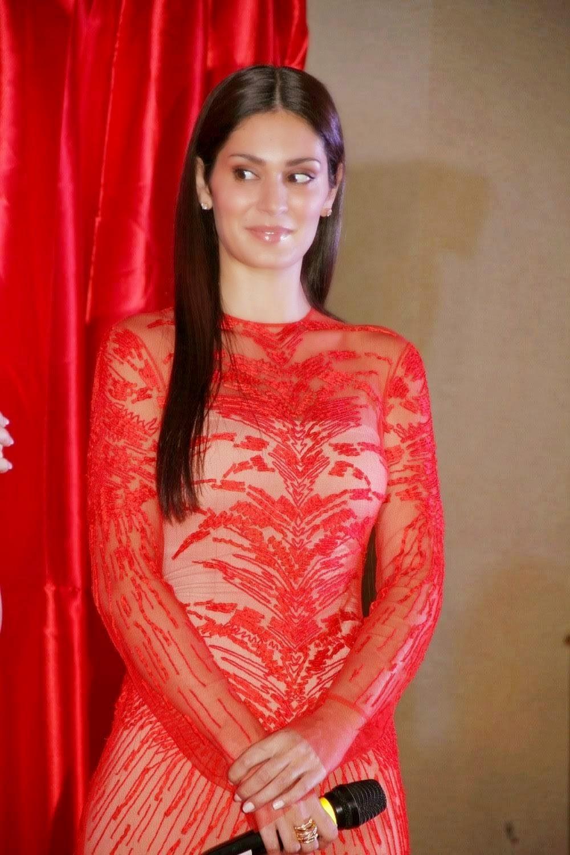 Bruna abdullah hot back bruna abdullah in short dress bruna abdullah - Bruna Abdullah At Udan Choo Hindi Movie Music Launch Stills