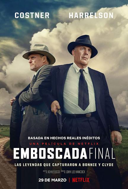 Woody Harrelson, Kevin Costner, Emboscada Final, Netflix, póster