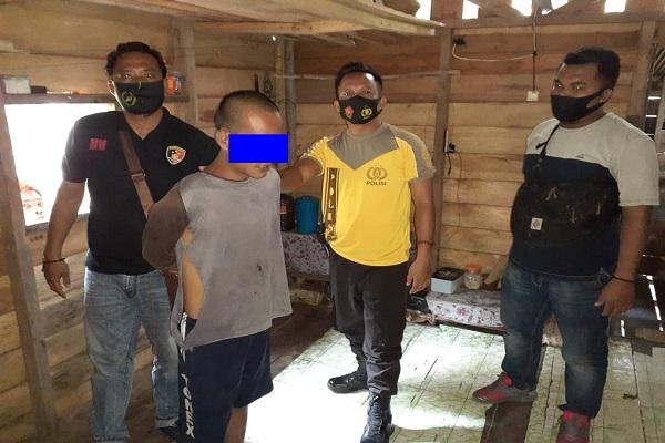 Unit Reskrim Polsek Dusun Tengah amankan pelaku pencabulan