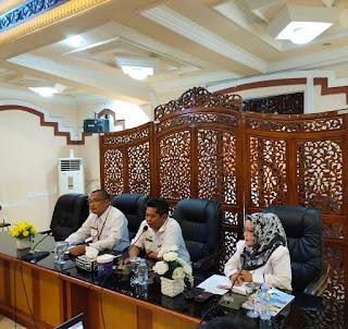 Diskominfo Kotabaru Bahas Draft Harga Barang dan Jasa 2021