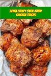 #EXTRA #CRISPY #OVEN #FRIED #CHICKEN #THIGHS