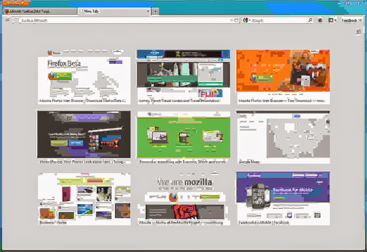 Tricks : How to Set Multiple Home Pages In Firefox