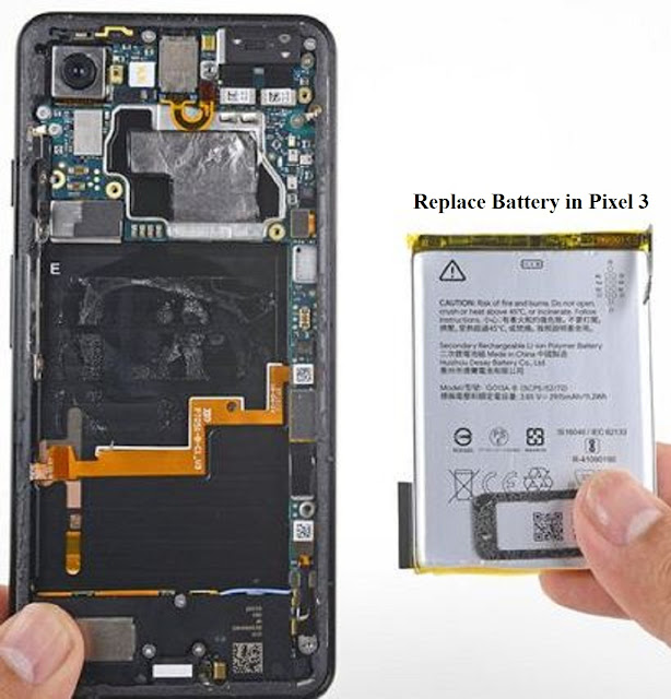 Can you replace battery in pixel 3?