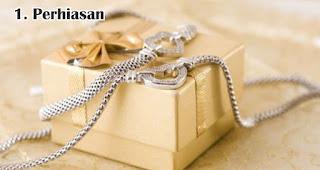 Perhiasan merupakan salah satu rekomendasi pilihan hadiah untuk wanita spesial di Hari Kartini