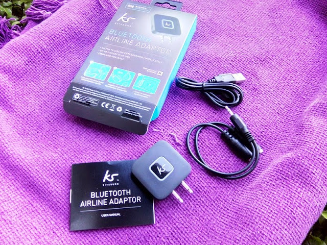 d8add212f14 KitSound Bluetooth Airline Double Prong Headphone Adaptor