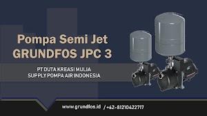 Grundfos JPC 3, 4 Smart (Semi Jet Pump) Spesifikasi