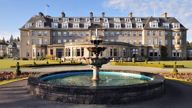 Gleneagles Hotel Auchterarder - Luxury Scottish Golf & Spa
