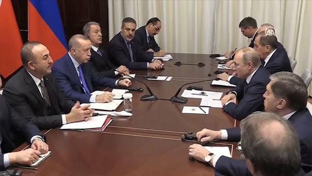 Ερντογάν και Πούτιν συμφώνησαν να συντονιστούν για την Ιντλίμπ