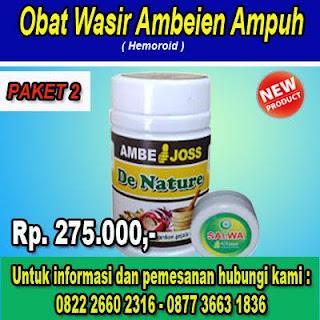 obat herbal ambeien atau wasir