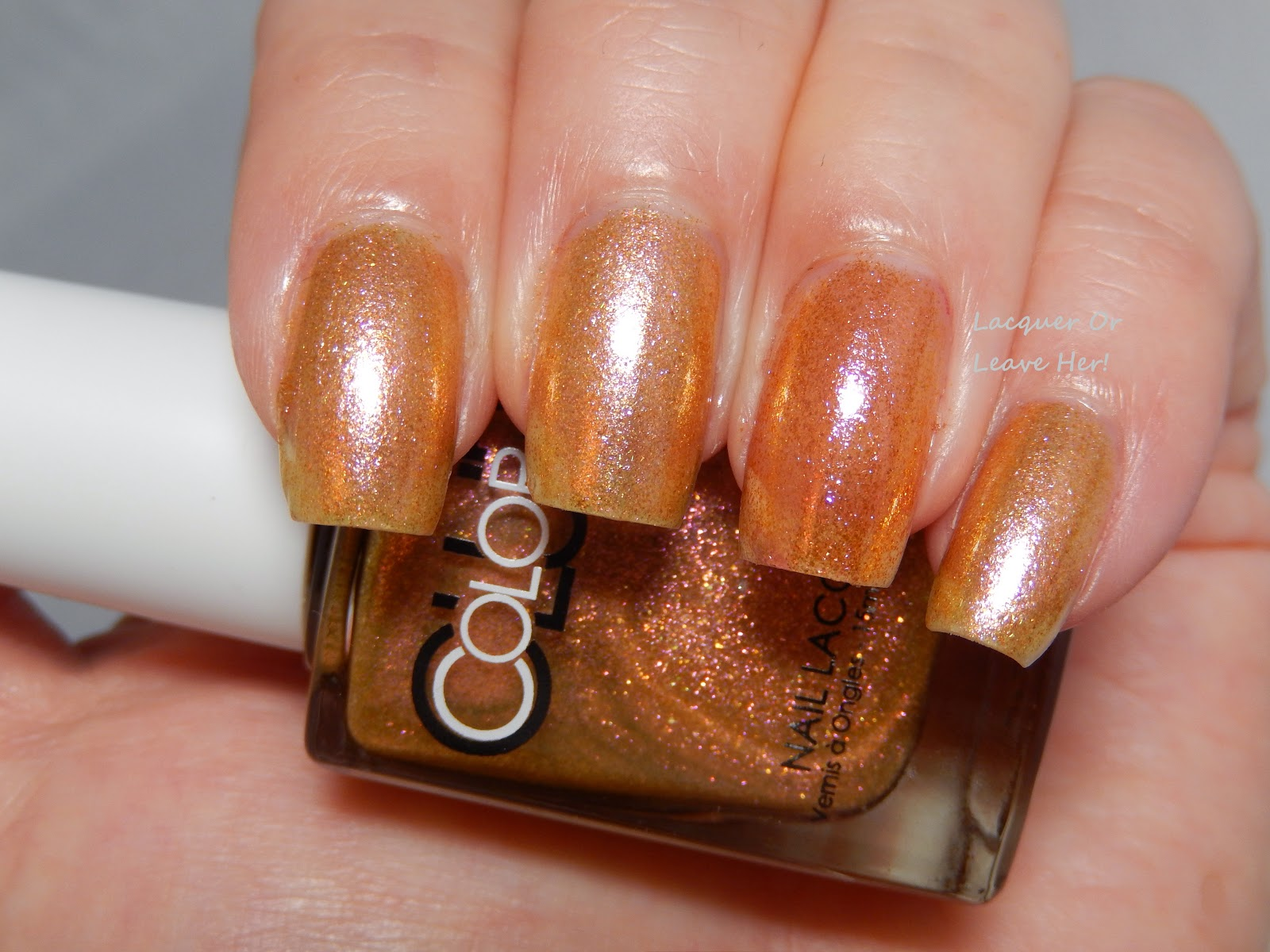 Color Club Lion's Den vs. Orly Brush It On