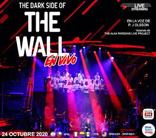 Concierto THE DARK SIDE OF THE WALL desde Bogotá