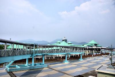 Kumamoto Ferry Port.