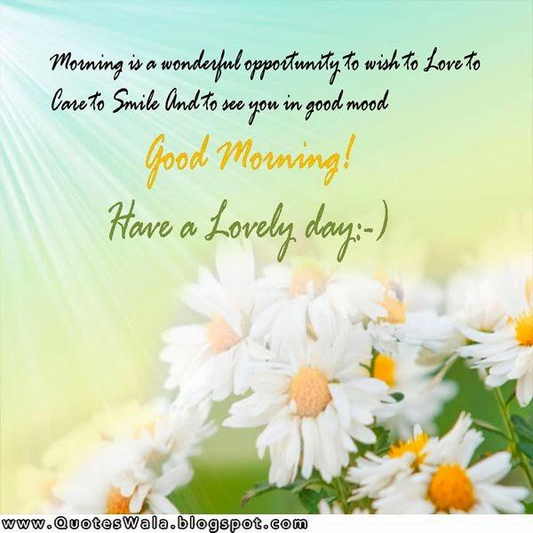 Good Morning Quotes Daily Quotes At Quoteswala