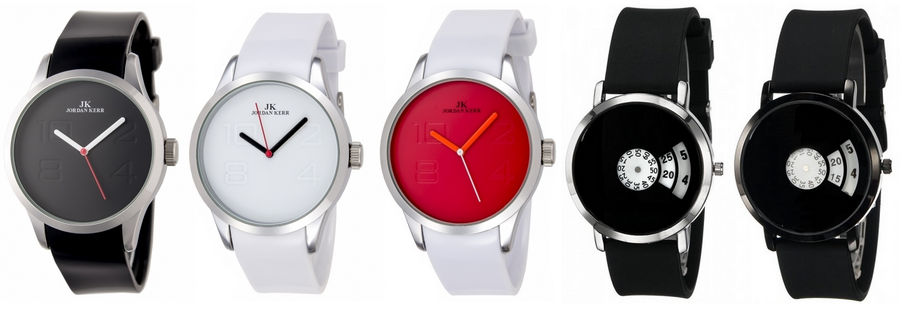 minimalistyczne zegarki l jordan kerr l tanie l czarne l nietypowe