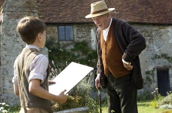 Ian McKellen- Milo Parker - Mr Holmes 2015