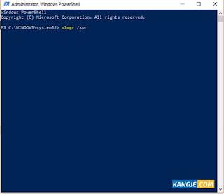 Langkah 4 Cek Status Aktivasi Windows 10 Secara Offline