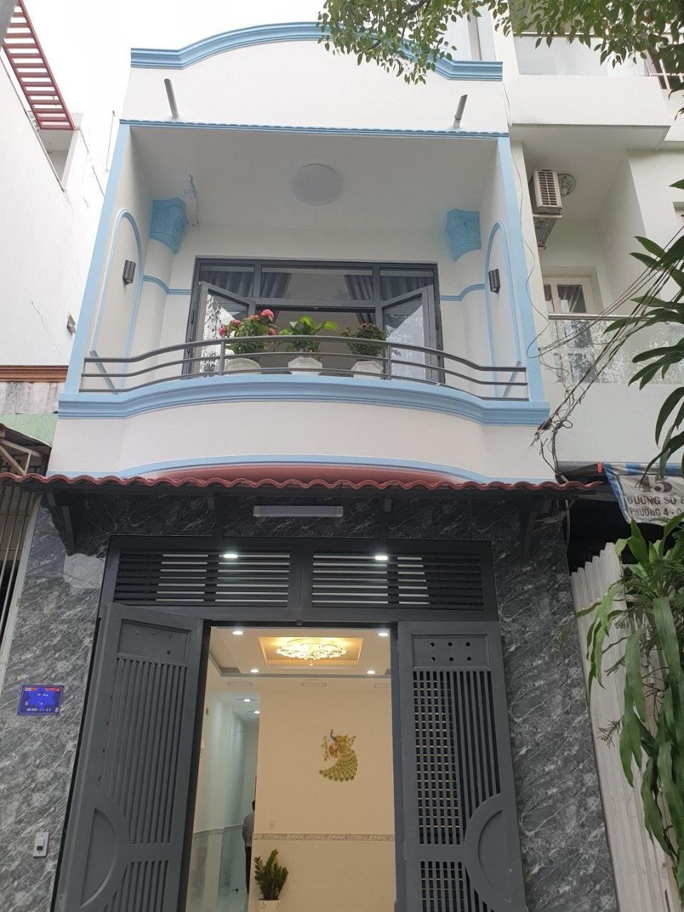Bán nhà mặt tiền đường Bùi Điền Quận 8, sau lưng chợ Phạm Thế Hiển