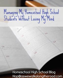 Managing your homeschooling high schoolers