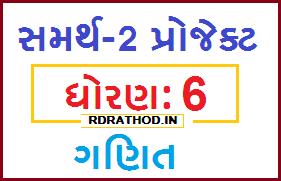STD 6 Mathematics Samarth 2 Project