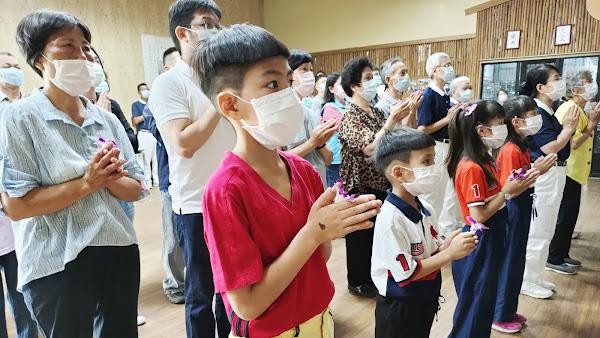彰化地區浴佛祈福 慶祝佛誕節、母親節、慈濟日