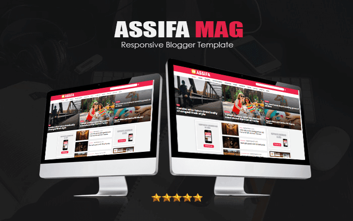Assifa Mag Responsive Blogger Template