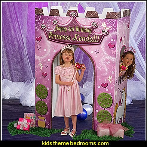 Princess Castle party prop