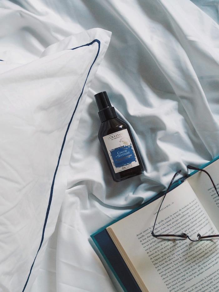 Brume d'oreiller Cocon de Sérénité de la marque L'Occitane