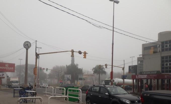 Alerta por Vientos Fuertes en la ciudad