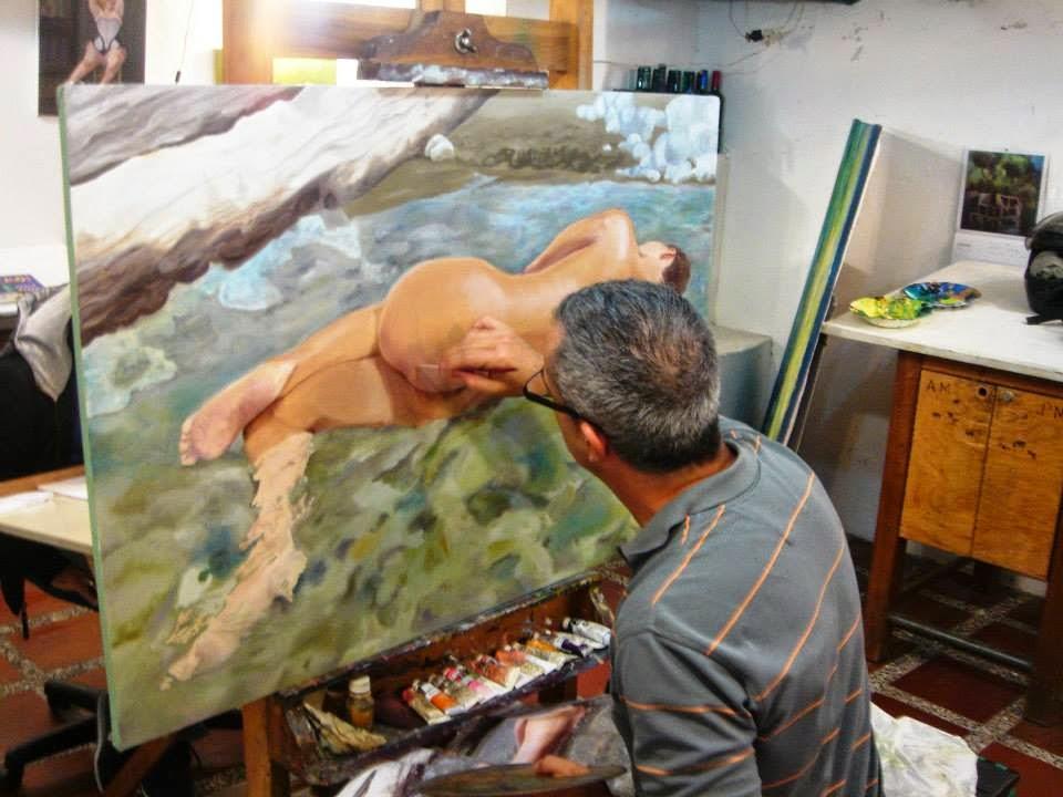 Jorge Marín pintores Colombianos, Artistas Colombianos