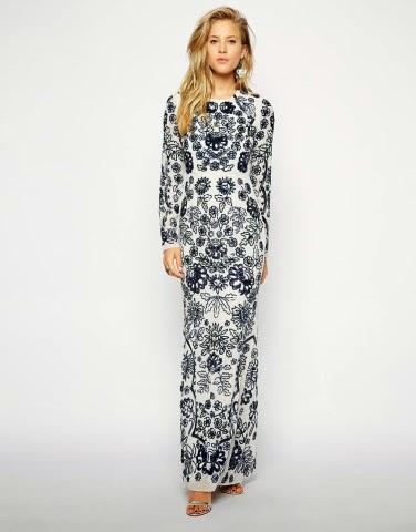 Modest Needle Thread Dress With Sleeves Mode Sty Nolayering Tznius Tzniut