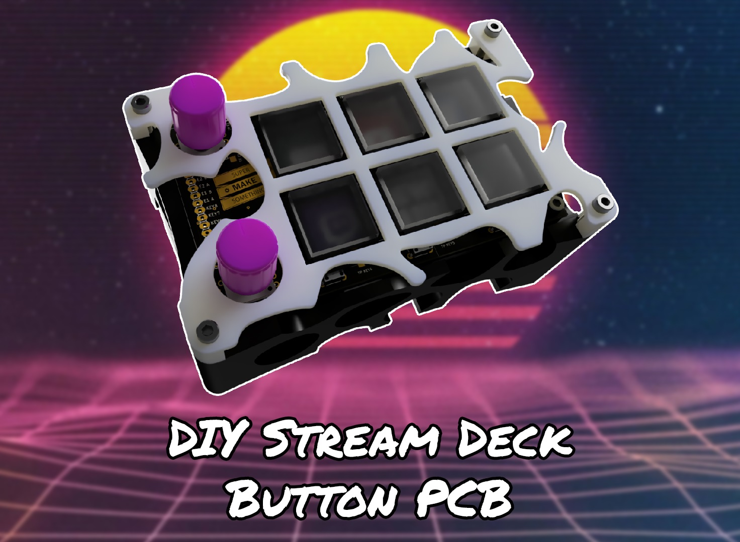 DIY Stream Deck Open Source Macro Keyboard with LCD Buttons
