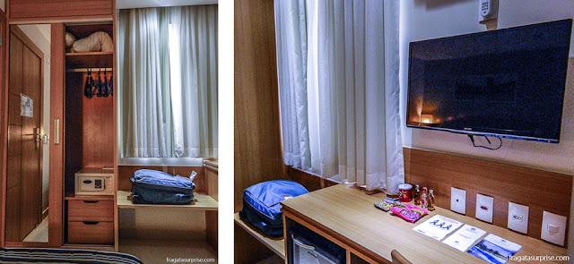 Apartamento do Hotel Rio Atlântico, Copacabana, Rio de Janeiro