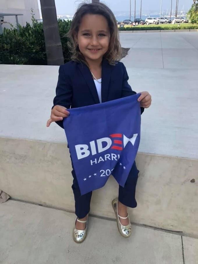 女の子の憧れのマーベルな人気の副大統領候補になって、選挙活動中のリトル・キャプテン・カーマラ‼️