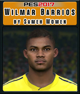 PES 2017 Faces William Barrios by Sameh Momen