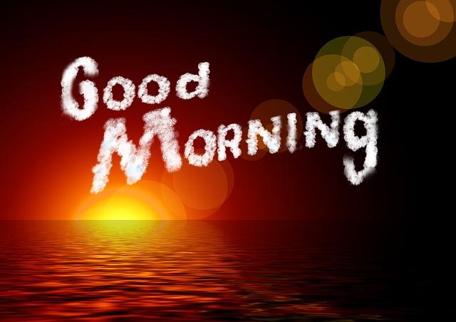 Good morning images God