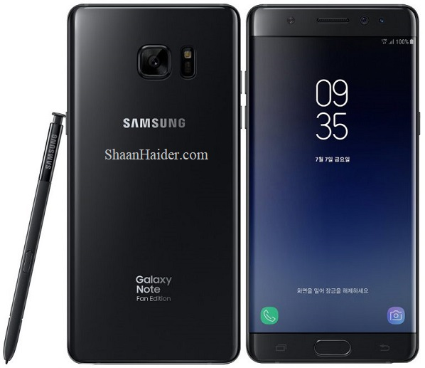 Samsung Galaxy Note Fan Edition : Full Hardware Specs, Features, Price and Availability