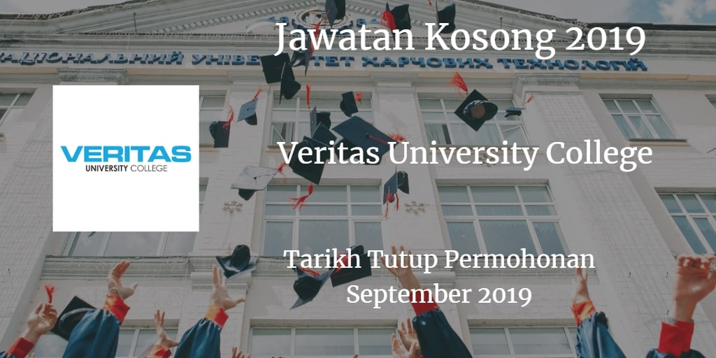 Jawatan Kosong Veritas University College September 2019