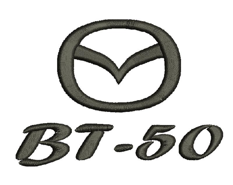 Logo Mazda BT 50 para bordar wilcom Wilcom embroidery