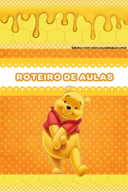 Planner educação infantil 2021 - Ursinho Pooh