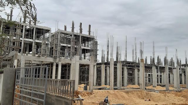 Tiến độ xây dựng Calyx Residence dự án 319 Uy Nỗ Đông Anh Bộ Quốc Phòng Cổ Loa Hà Nội
