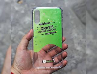 Mockup Custom Case Anticrack iPhone X