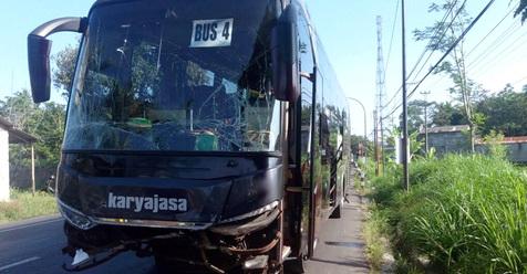 Inna Lillahi, 5 Bus Pengangkut Jamaah Haji Jawa Tengah Alami Kecelakaan