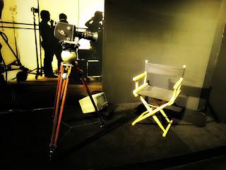 A Câmera e A Cadeira do Diretor no Museu do Festival de Cinema de Gramado