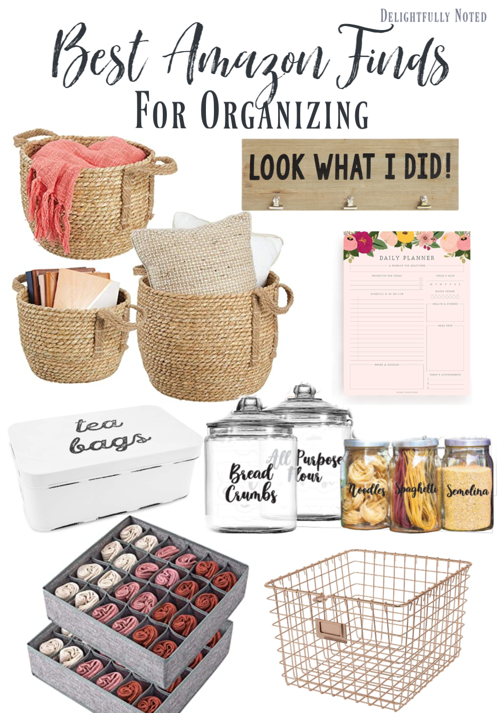 Cleaning and Organizing to Cope: Amazon Organizational Finds