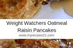 Weight Watchers Oatmeal Raisin Pancakes